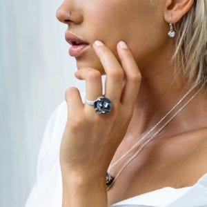 3D printed statement ring, winner of Etsy Design Award