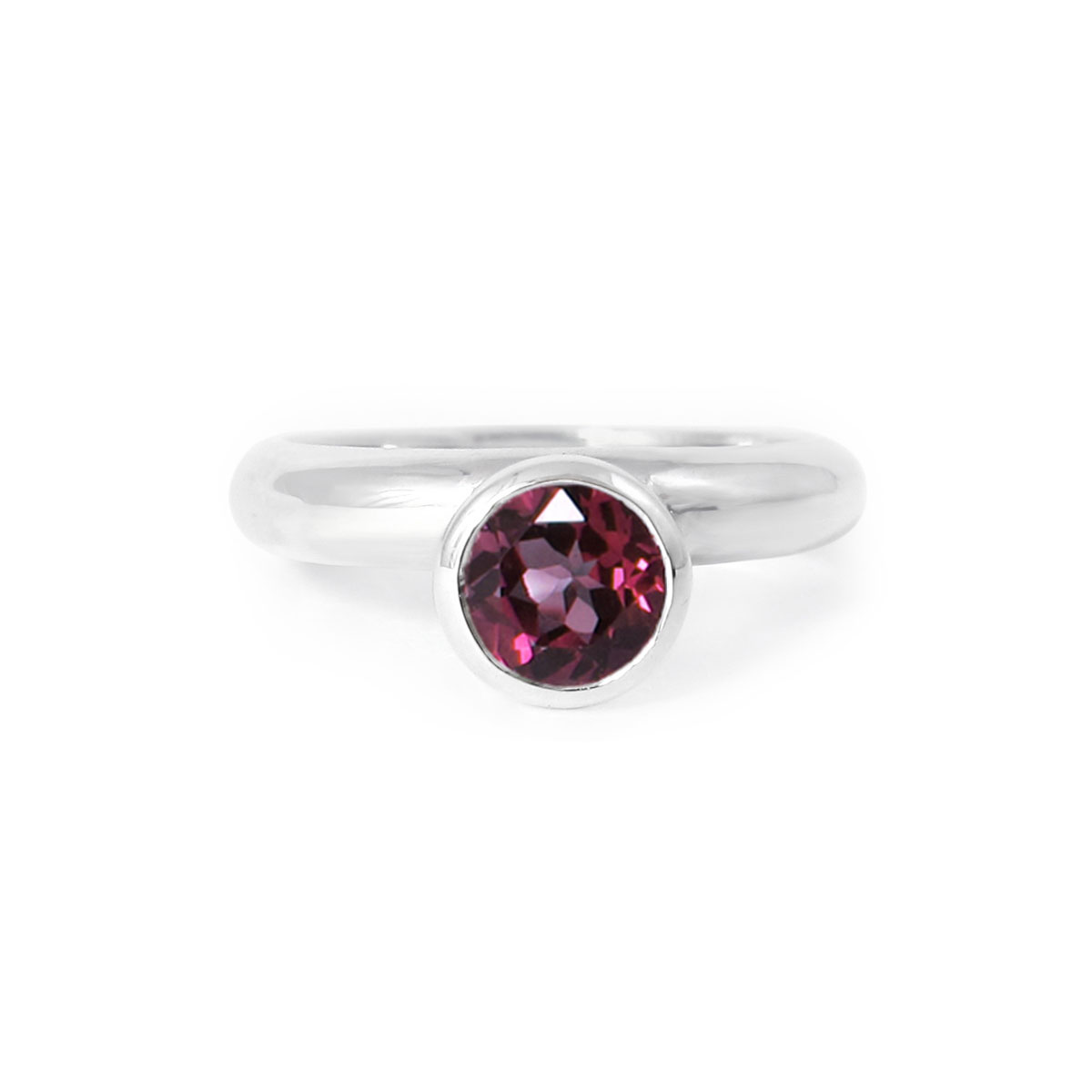 white diamonds ring in rings rhodolite tw garnet gold with