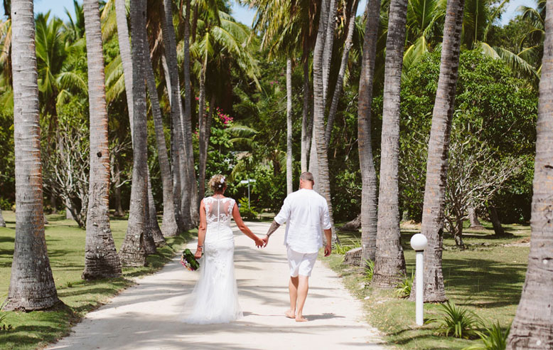 Eloping with an untraditional bride