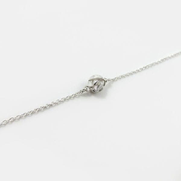 3D printed sterling silver bracelet