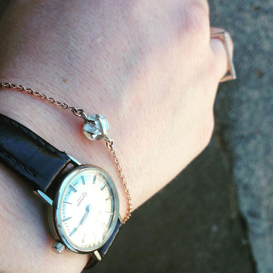 Silver and rose gold bracelet review