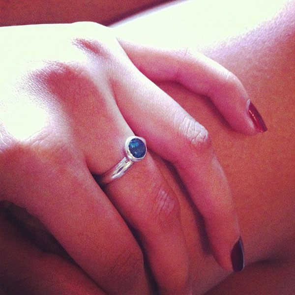 London blue topaz ring review