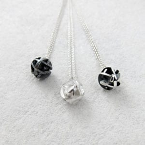 Negative/Positive Mini necklaces