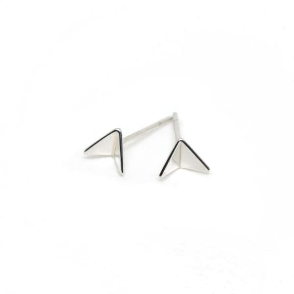 Airplane stud earrings for the traveller