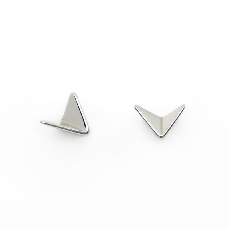 7f9c2360f Paper Planes sterling silver stud earrings | Fairina Cheng Jewellery