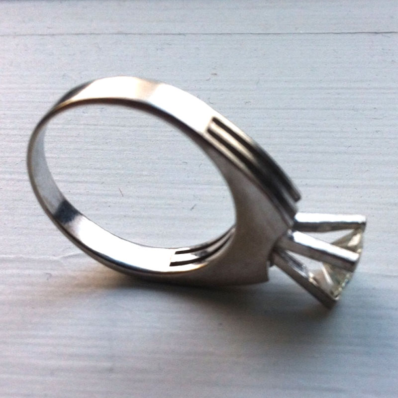 Recycle your old engagement ring and create something completely new