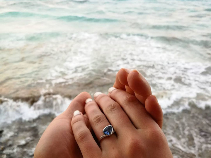 A proposal in paradise: Sebastian and Mary's engagement
