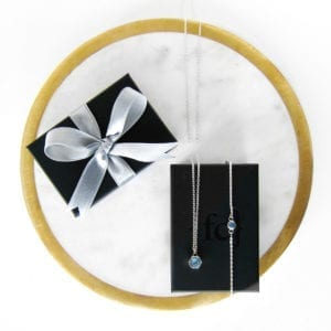 Full Circle bracelet and Hexagon necklace gift set